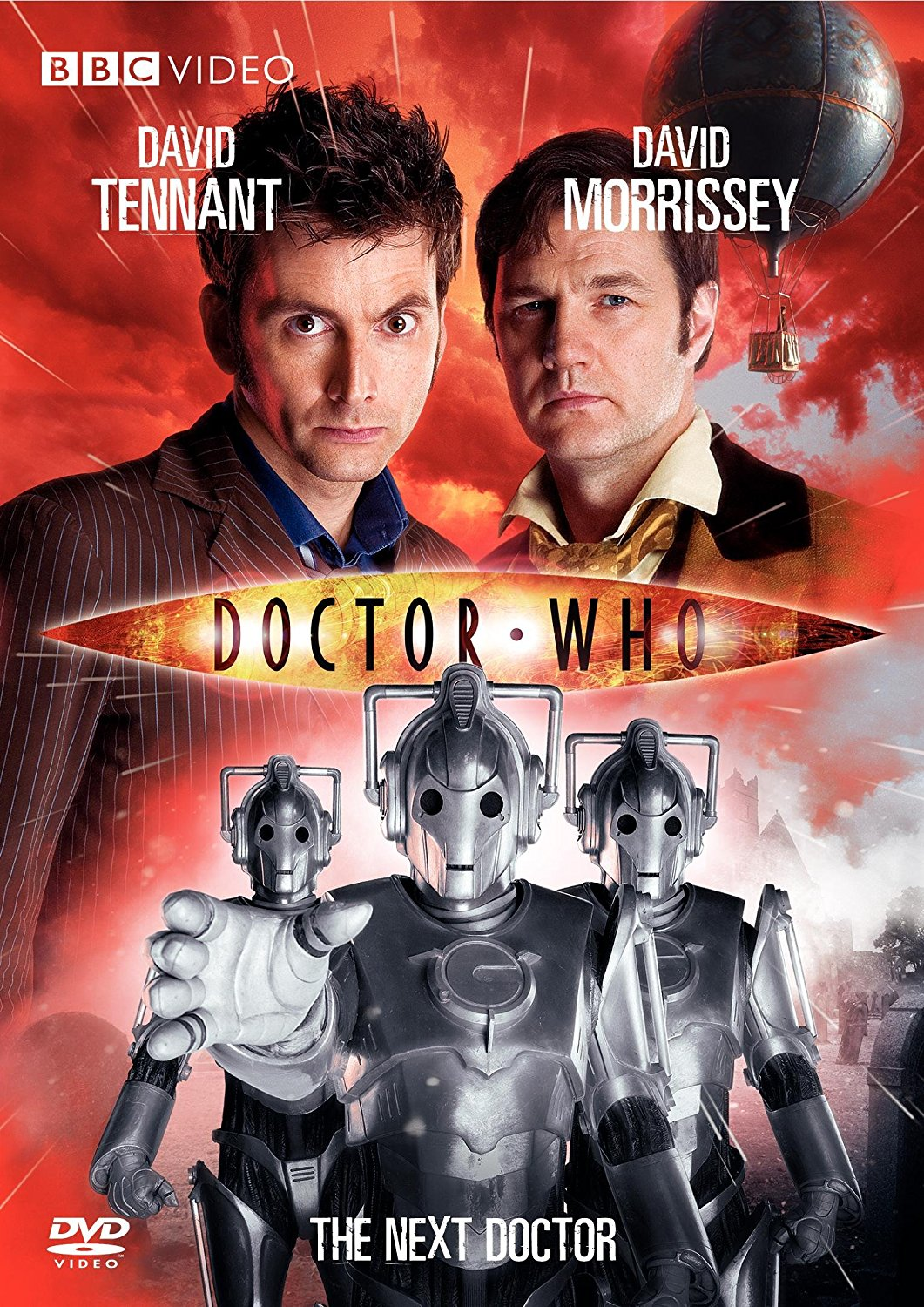 """Doctor Who - The Next Doctor"" DVD cover."