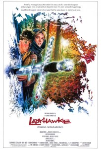 """""""Ladyhawke"""" theatrical teaser poster."""