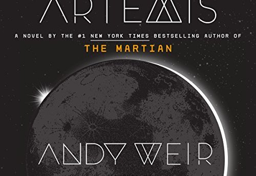 Artemis by Andy Weir - audiobook review