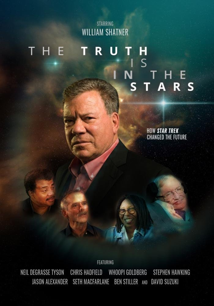 """The Truth Is in the Stars"" poster."