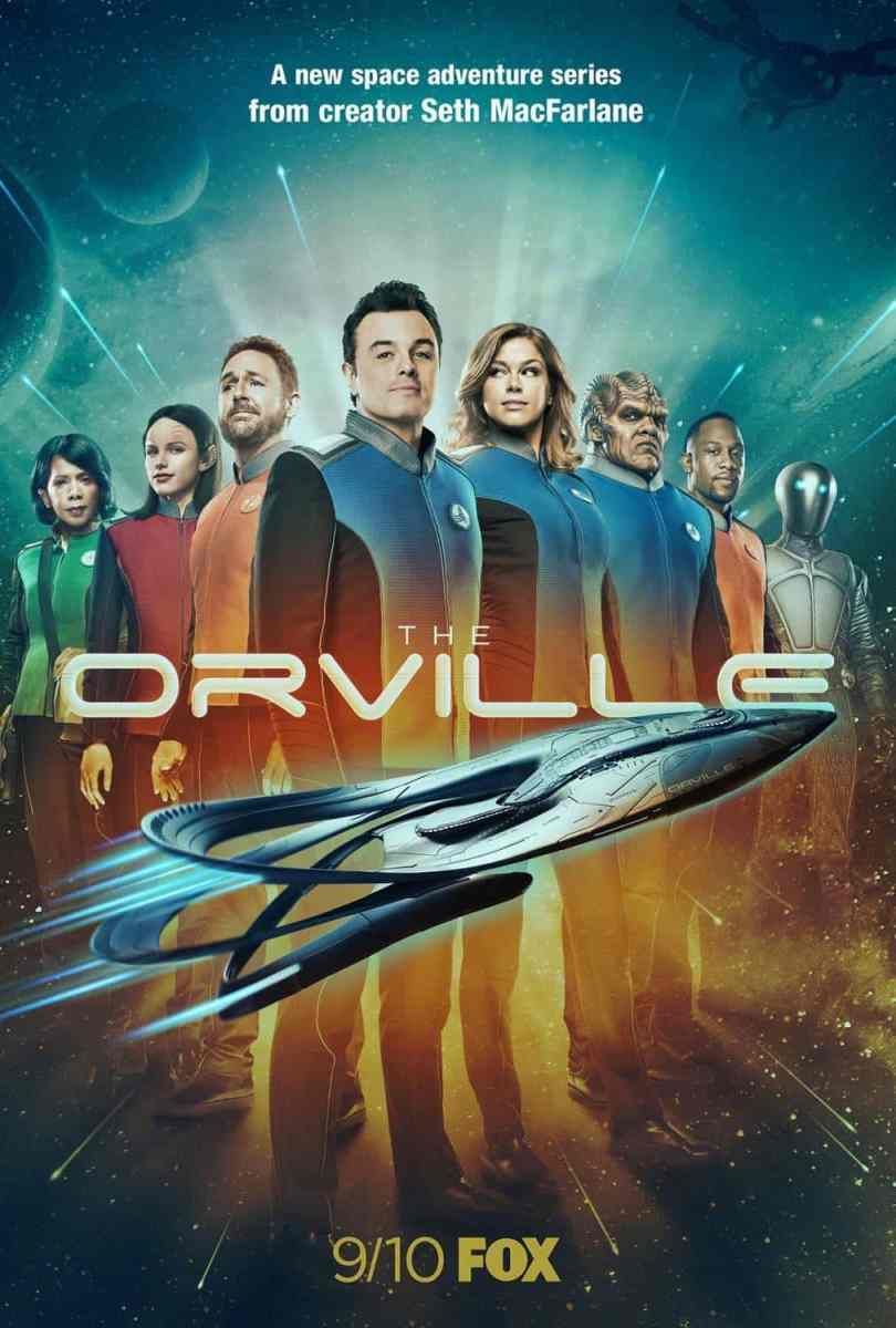 The Orville Season One - television series review