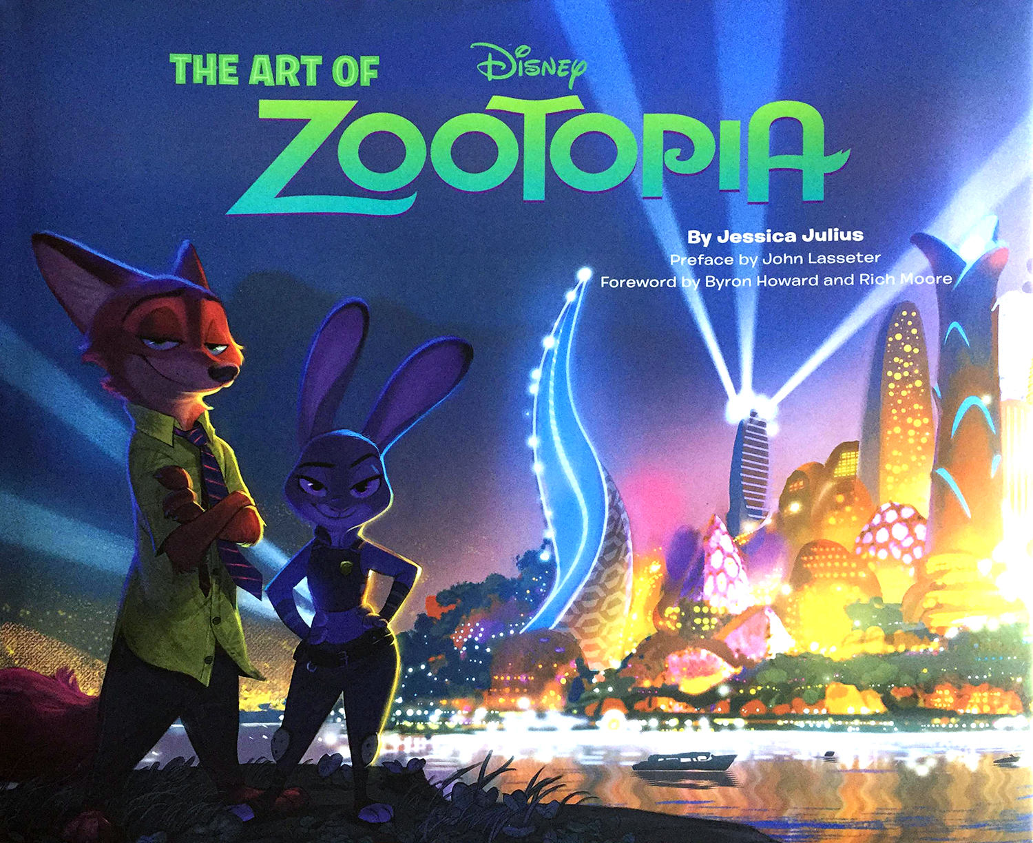 """""""The Art of Zootopia"""" by Jessica Julius."""