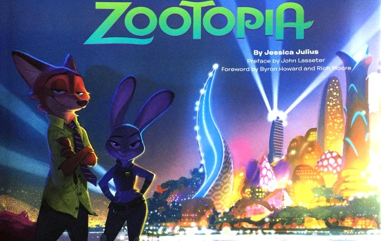 The Art of Zootopia by Jessica Julius - art book review