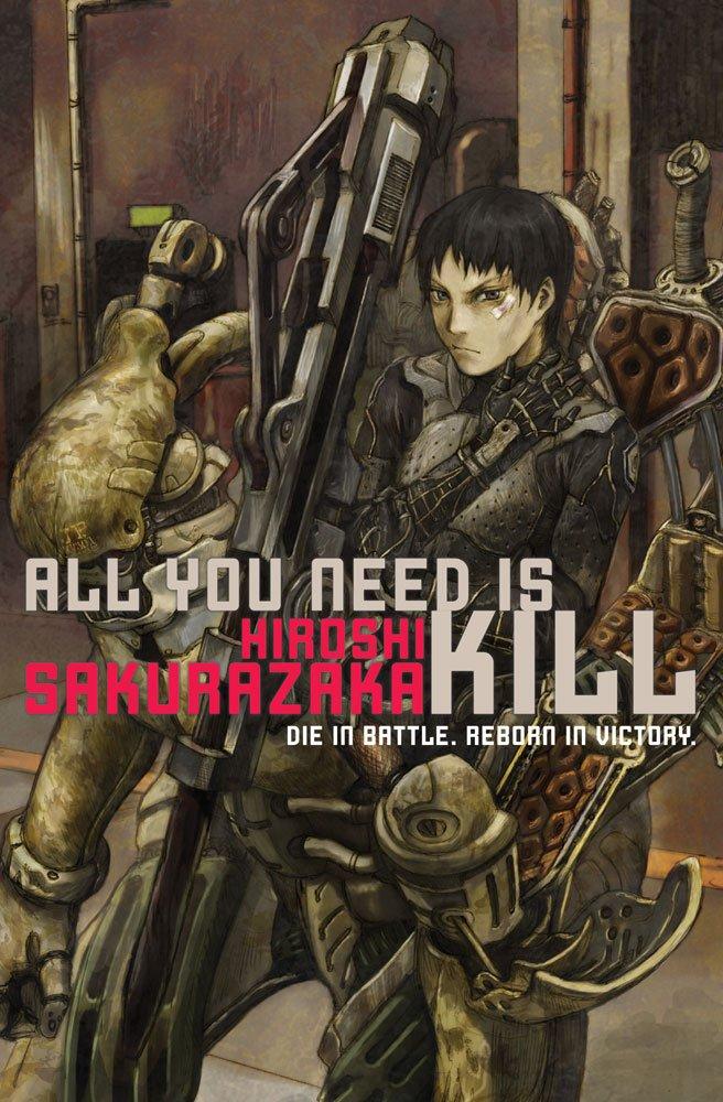 """""""All You Need Is Kill"""" by Hiroshi Sakurazaka."""