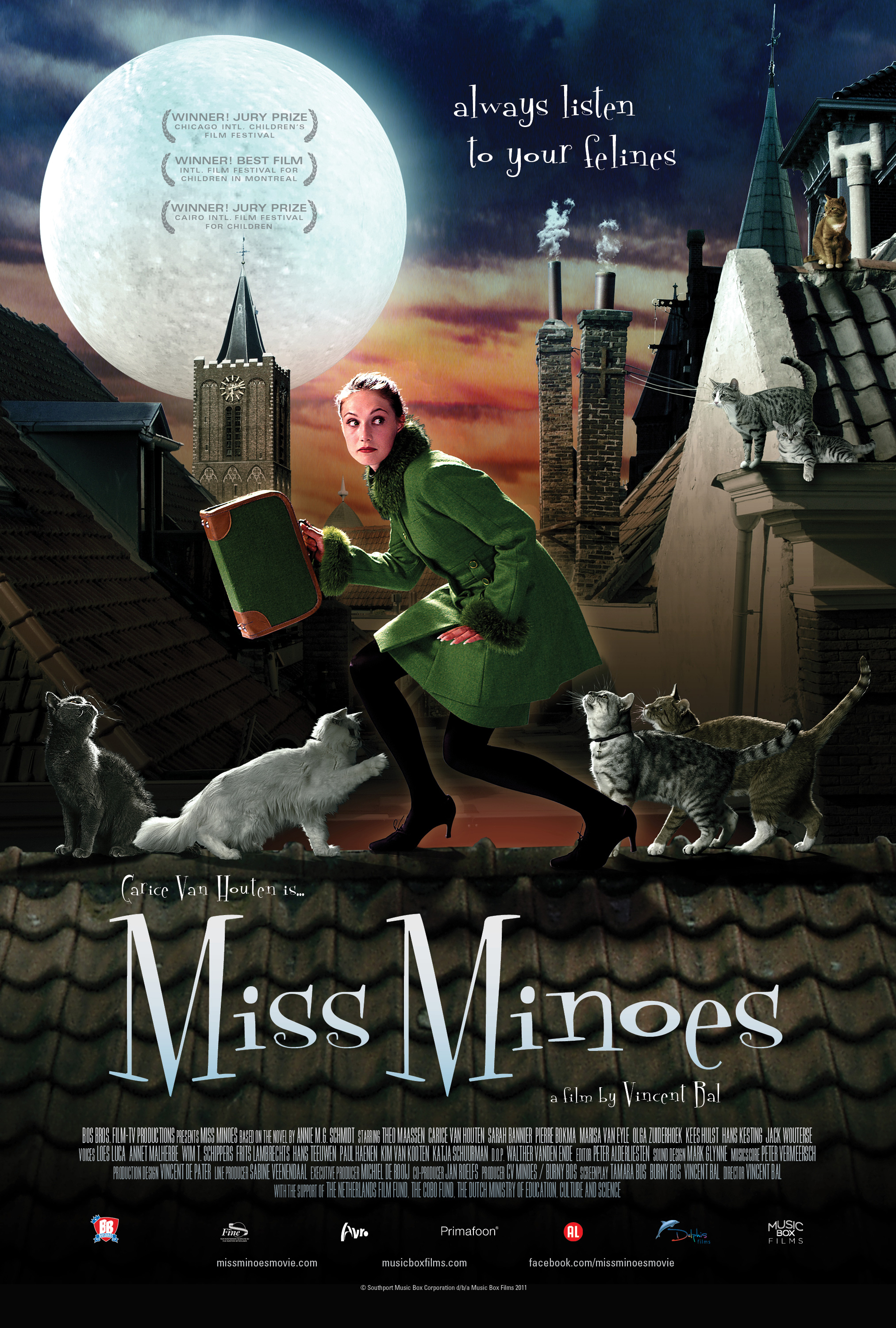Miss Minoes (Undercover Kitty) theatrical poster
