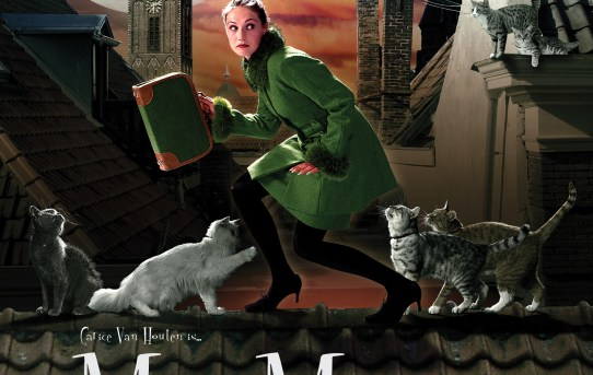 """Miss Minoes"" (Undercover Kitty) theatrical poster."