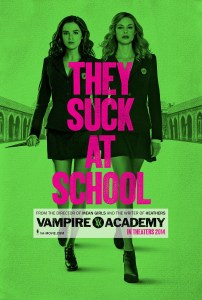 """Vampire Academy"" poster."