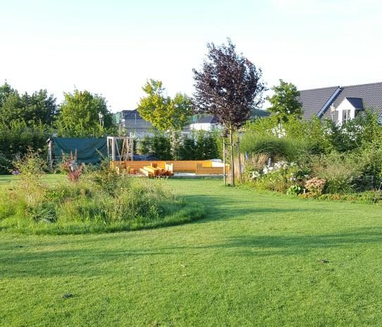 Unser Gartenhaus...