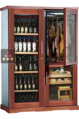 Gourmet Combination Wine Cabinet Cigar Humidor Amp Cold