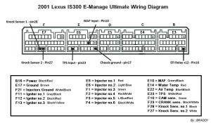 2001 and 20022005 IS300 Emanage Ultimate wiring diagram  Lexus IS Forum