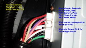 Amp Wire IdentificationHELP  Lexus IS Forum