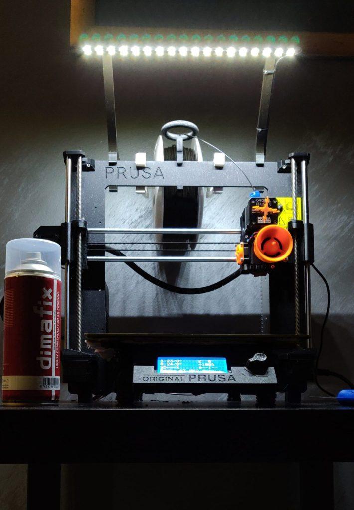 oświetlenie do drukarki