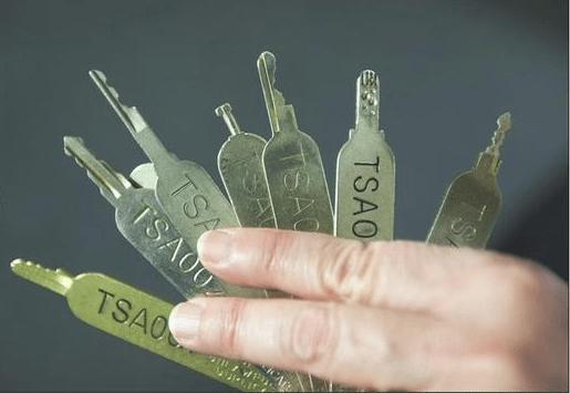 """Mały bonus na koniec. """"The Washington Post"""" opublikowało kiedyś w swoim artykule o kluczach TSA"""