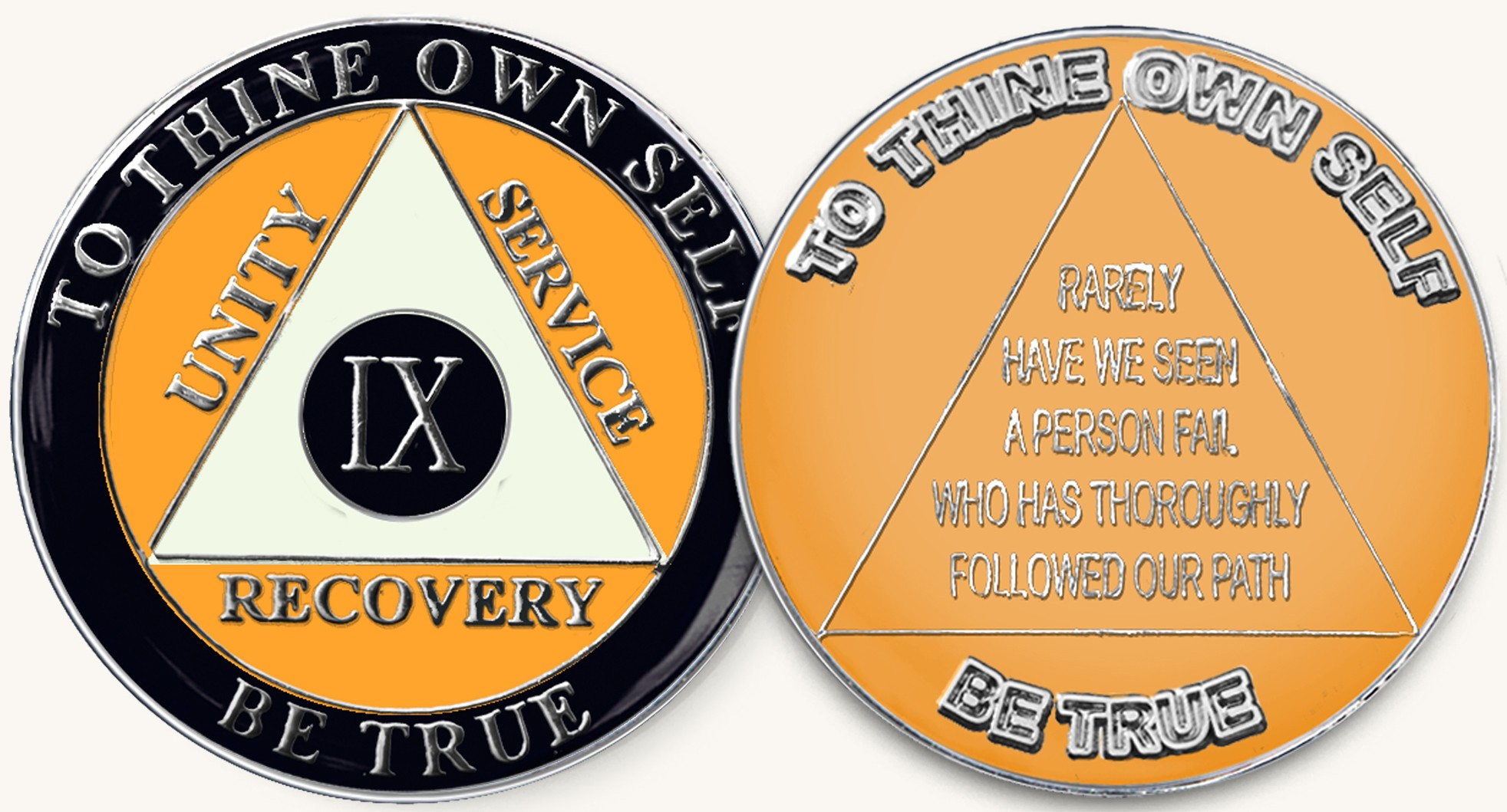 Black Yellow Sports Aa Tri Plate Recovery Medallion