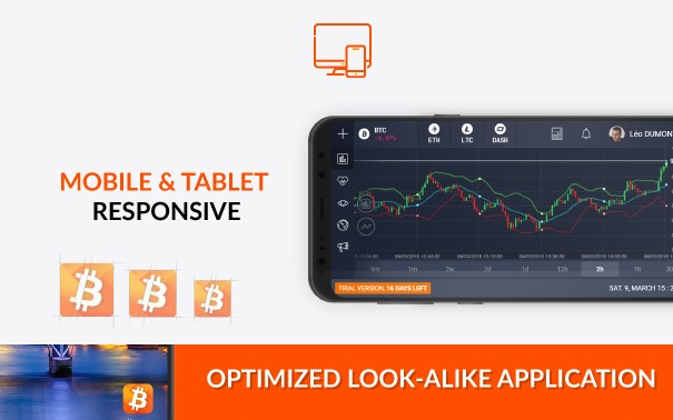MY2COINS Exchange - Mobile and Tablet responsive - Trading Crypto Low Fee Bitcoin Altcoins