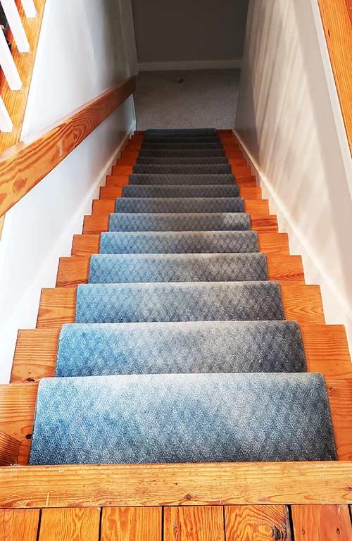Old Bule Staircase Runner