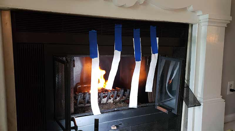 Testing Prefab Fireplace