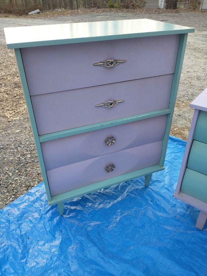 Mid Century Modern Dresser tall dresser