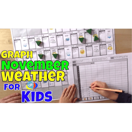 How To Graph November Weather For Kids | Fun Science Kids