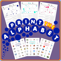 How To Print Letters Of The Alphabet