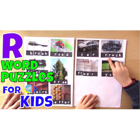 How To Read R Words With Word Puzzles | Language Arts Kids