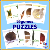 Légume PUZZLES for Kids