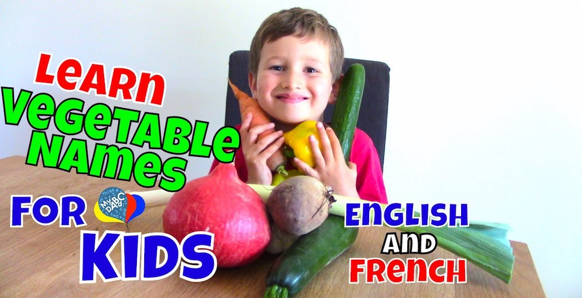 Learn Vegetable Names With Elliot