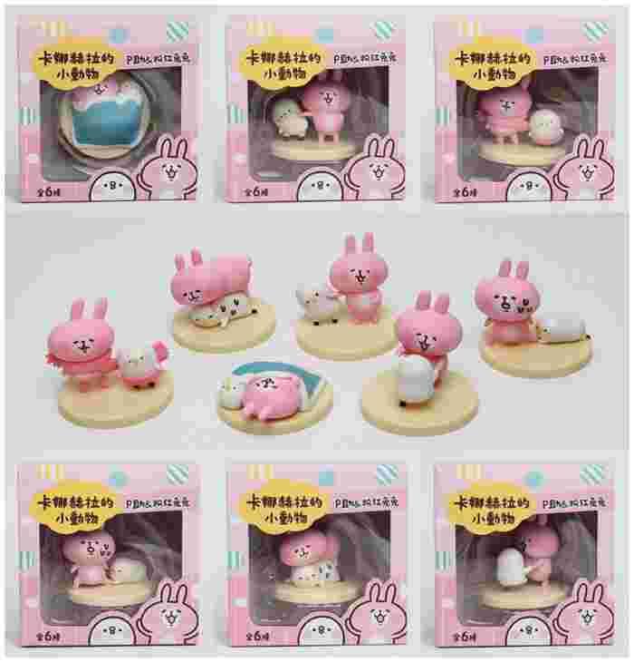 卡娜赫拉的小動物 Kanahei 粉紅兔兔 小雞P助 盒玩 公仔 三貝多正版授權 整套販售 無附糖果 | 動物/植物 | 轉蛋食 ...