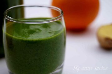image of spinach smoothie