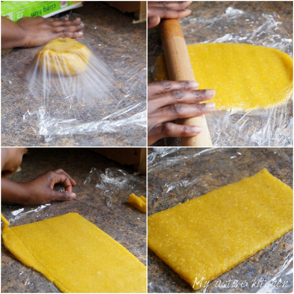 the process of rolling eba to shape