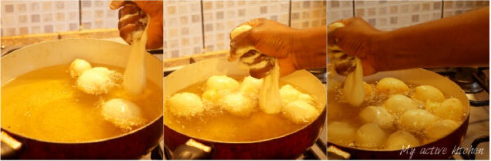 how to fry puff puff