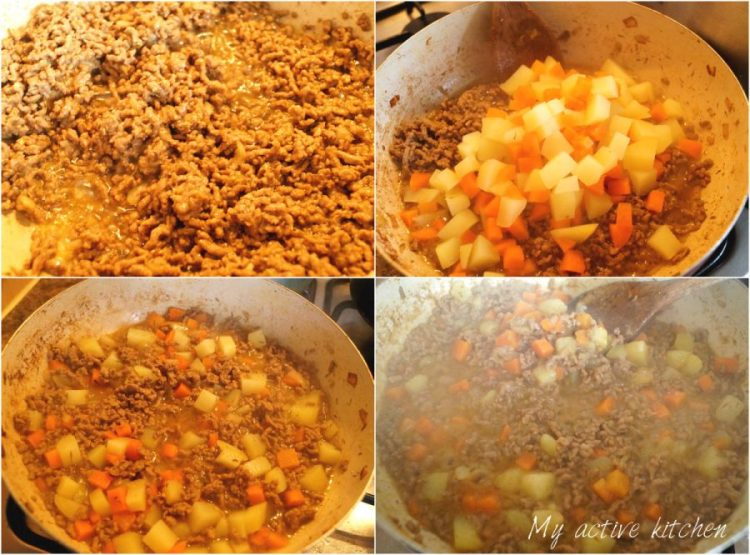 Nigerian meat pie made with shortcrust pastry and mince meat filling. Very easy to make and delicious too.