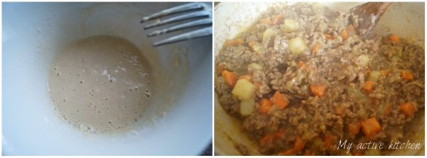 Nigerian meat pie made with homemade shortcrust pastry and mince meat filling. Very easy to make and delicious too.