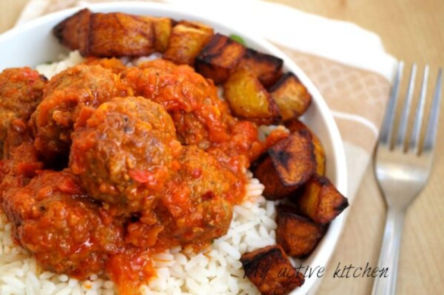nigerian meatball recipe
