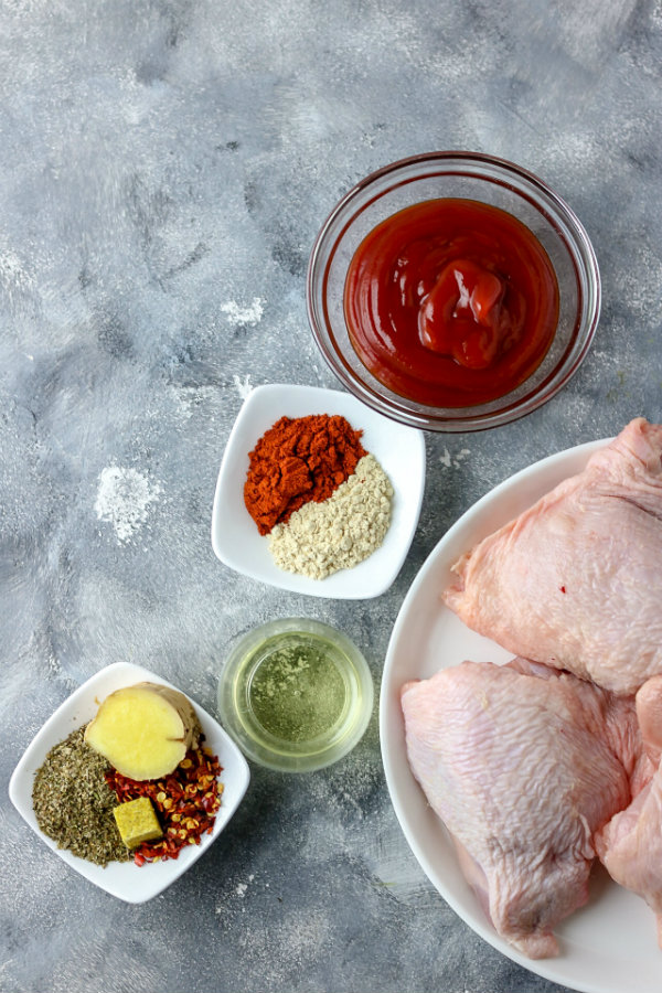 How to make baked spicy baked chicken