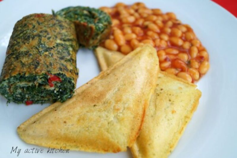 ugwu omelette nigerian style omelette.