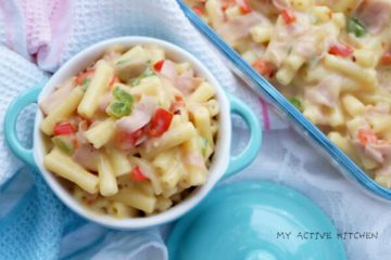 bowl of macaroni and cheese recipe