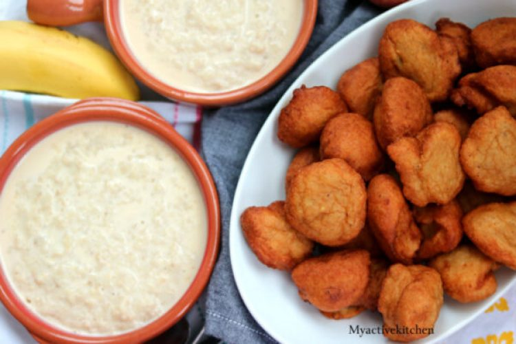 picture of akara and porridge oat