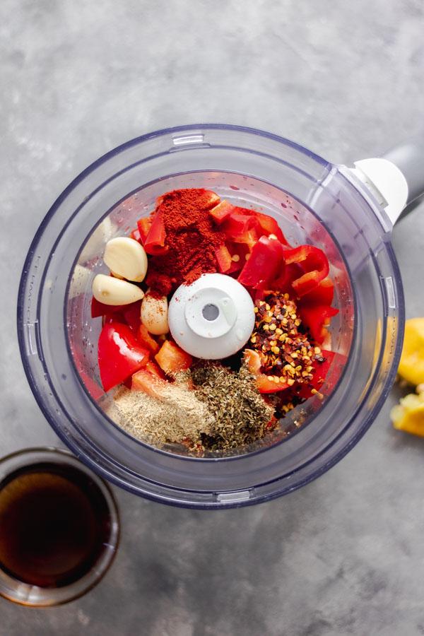 piri piri sauce or peri peri sauce ingredients.