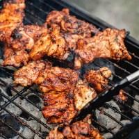 Grilled Boneless Chicken Thighs