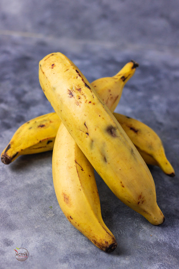 three plantain.