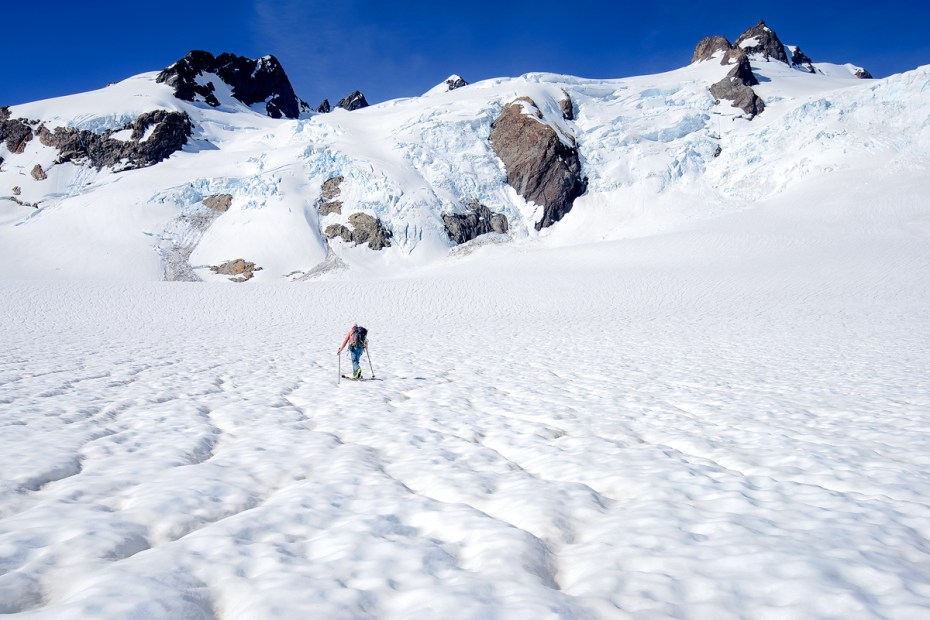 The Blue Glacier Icefall