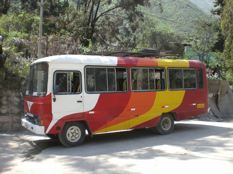 What to do in Peru: catching an old bus from Chosica to San Pedro de Casta