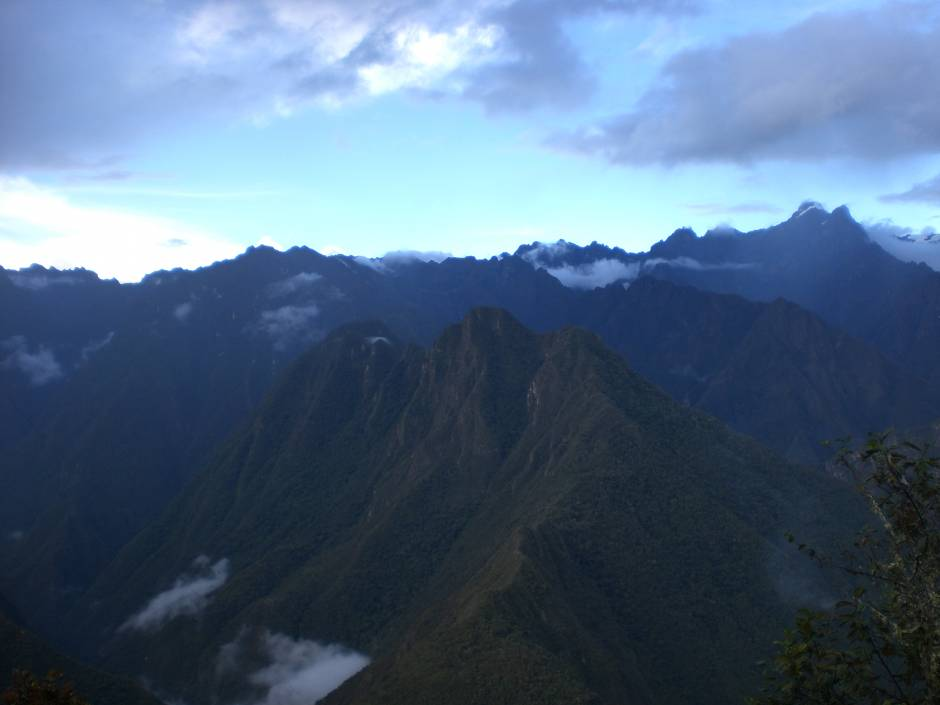 The andes - view from the inca trail