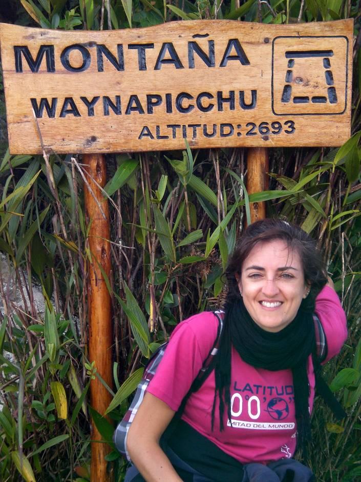 Finally on top of Wayna Picchu!