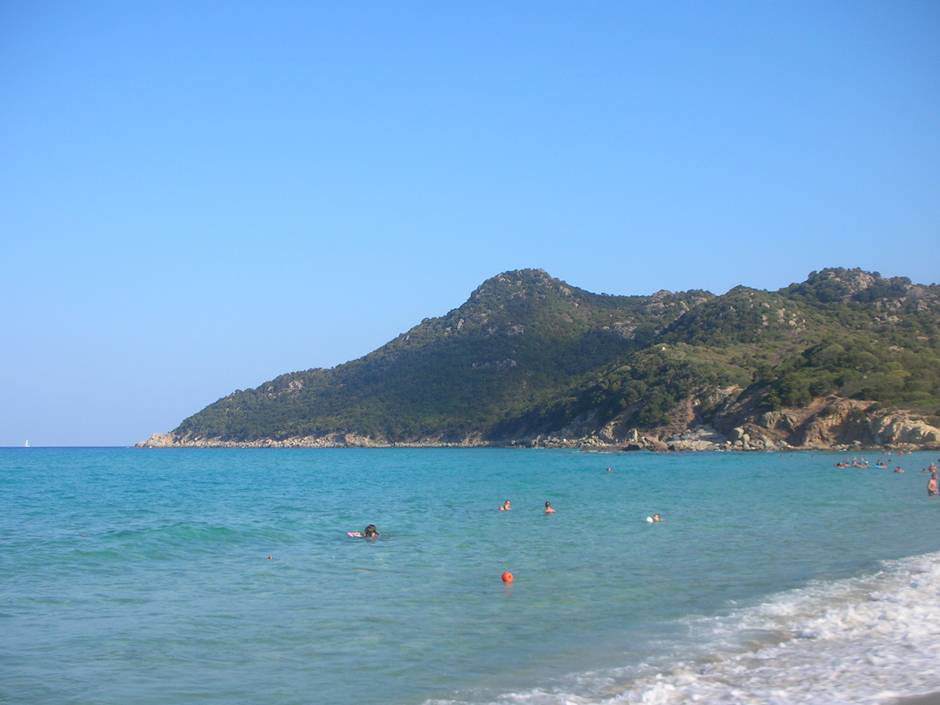 Cala Sinzias, one of the best beaches in Sardinia