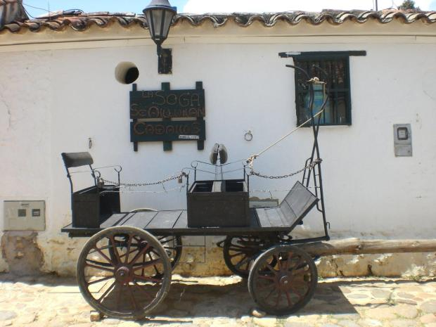 Things to do in Colombia: parking your carriage outside