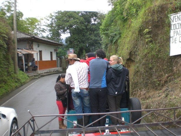 Things to do in Colombia: ride on the back of a jeep