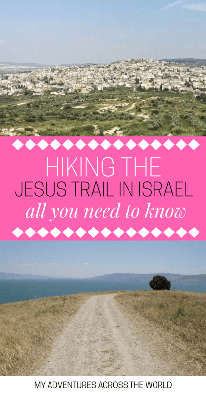 Find out all the tips for hiking the Jesus Trail, Israel - via @clautavani