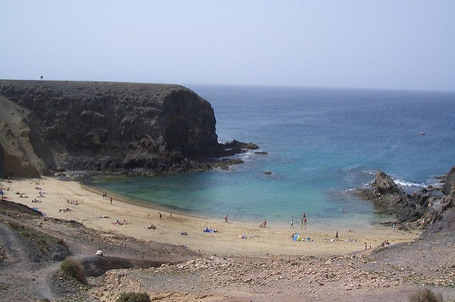 Lanzarote, here I come! - photo courtesy of Mark Veraart (flickr)